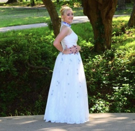 Sherri Hill Multicolor Size 8 Two Piece White Mini Medium Height Straight Dress on Queenly