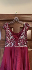 Sherri Hill Red Size 10 Jewelled Sequin A-line Dress on Queenly