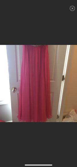 Sherri Hill Pink Size 2 Sweetheart Strapless A-line Dress on Queenly