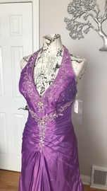 Purple Size 8 Ball gown on Queenly