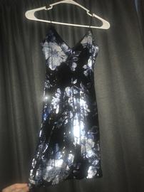 B. Darlin Black Size 2 B Darlin Medium Height Cocktail Dress on Queenly