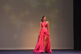 Sherri Hill Pink Size 4 Tall Height Custom Side slit Dress on Queenly