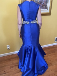 Jovani Royal Blue Size 6 Mermaid Dress on Queenly