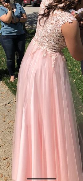 Pink Size 2 Side slit Dress on Queenly