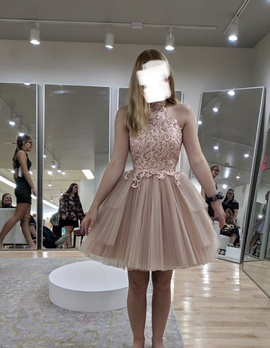 Ashley Lauren Pink Size 0 Homecoming Cocktail Dress on Queenly