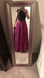 Patra Ltd Pink Size 10 Cap Sleeve Two Piece Ball gown on Queenly