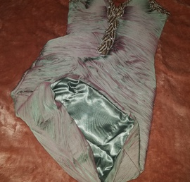 Jovani Green Size 6 Homecoming Sequin Mermaid Dress on Queenly