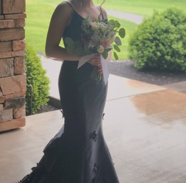 Sherri Hill Black Size 00 Prom Two Piece Train Dress on Queenly