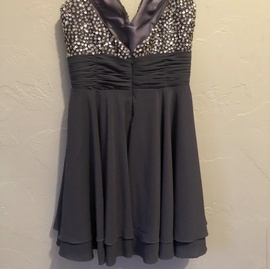 Silver Size 2 A-line Dress on Queenly