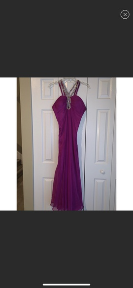Queenly size 6  Purple Straight evening gown/formal dress
