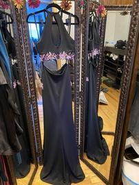 Jovani Multicolor Size 0 Side Slit Train Dress on Queenly