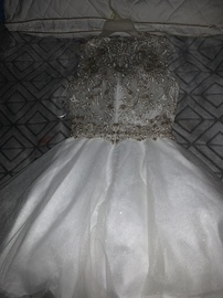 Let White Size 0 Homecoming Ball gown on Queenly