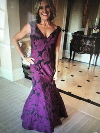 Queenly size 10 Jovani Purple Ball gown evening gown/formal dress