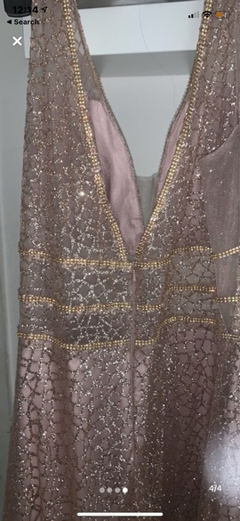 Multicolor Size 12 Side slit Dress on Queenly