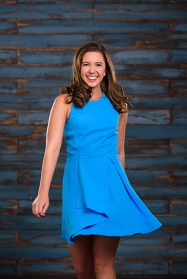 Adelyn Rae Blue Size 4 Cocktail Dress on Queenly