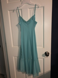 Jodi Kristopher Green Size 14 Teal Tall Height Straight Dress on Queenly