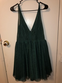 Green Size 12 A-line Dress on Queenly