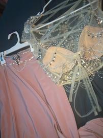 Alyce Paris Pink Size 00 Side slit Dress on Queenly