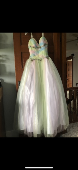 Multicolor Size 4 Ball gown on Queenly
