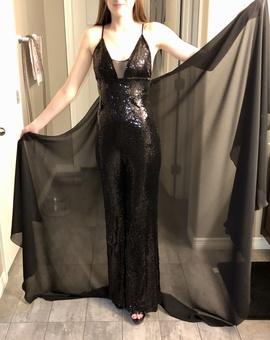 Black Size 0 Romper/Jumpsuit Dress on Queenly