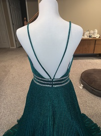 Camille La Vie Green Size 10 A-line Dress on Queenly