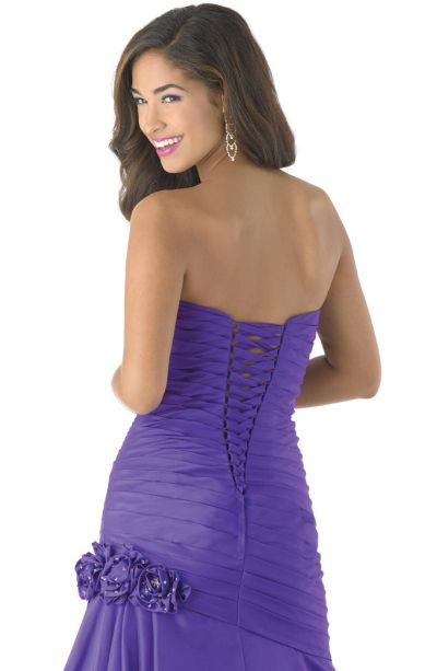 Style 3149 Mystique Prom Purple Size 10 Sweetheart Prom Mermaid Dress on Queenly