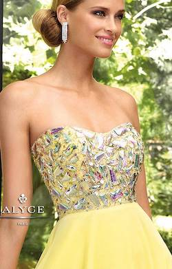 Alyce Paris Purple Size 10 Prom A-line Dress on Queenly