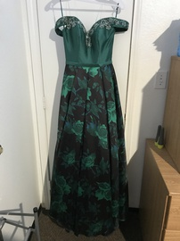 Annylee Green Size 00 Ball gown on Queenly