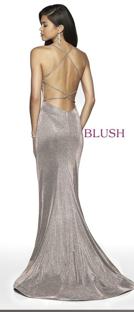 Blush Nude Size 10 Mermaid Dress on Queenly