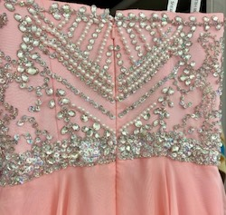 Sherri Hill Pink Size 0 Sweetheart Medium Height Straight Dress on Queenly