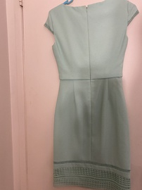 Green Size 0 A-line Dress on Queenly