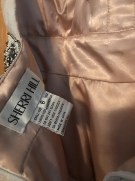 Nude Size 6 Cocktail Dress on Queenly