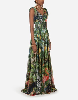 Queenly size 32 Dolce and Gabbana Multicolor Cocktail evening gown/formal dress