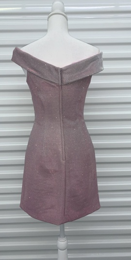 Sherri Hill Purple Size 4 Homecoming Interview Shiny Cocktail Dress on Queenly