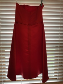 Jessica McClintock Red Size 4 Silk Cocktail Dress on Queenly