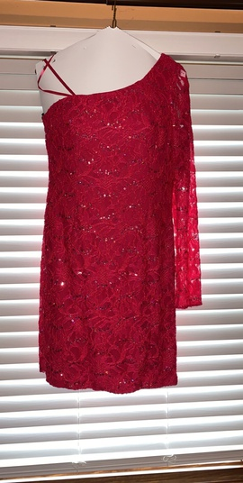 Queenly size 8 Adrianna Papell Pink Cocktail evening gown/formal dress