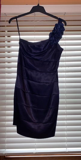 Queenly size 10  Blue Cocktail evening gown/formal dress
