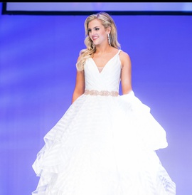 Mori Lee White Size 4 Tall Height Ball gown on Queenly