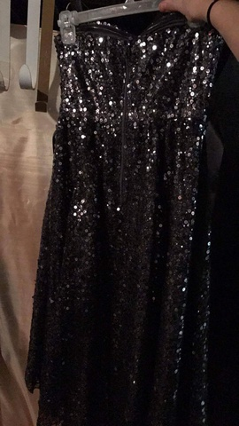 City Triangles Black Size 4 High Low Train Dress on Queenly