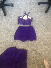 Purple Size 6 Cocktail Dress on Queenly
