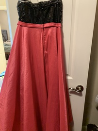 Mac Duggal Pink Size 14 Sweetheart Strapless Plus Size A-line Dress on Queenly
