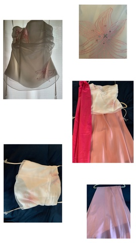 David's Bridal Pink Size 4 Prom Strapless Straight Dress on Queenly