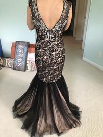 Mac Duggal Multicolor Size 8 Medium Height Mermaid Dress on Queenly