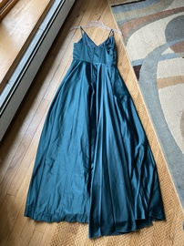 Windsor Green Size 4 Silk Tall Height A-line Dress on Queenly