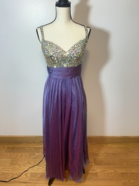 Colors Purple Size 8 A-line Dress on Queenly