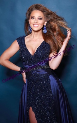 Tony Bowls Blue Size 4 Silk Train Dress on Queenly