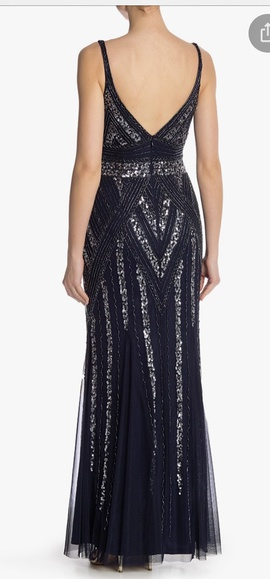 marina Red Size 14 Prom Straight Dress on Queenly