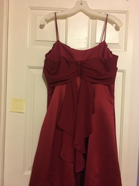 Red Size 12 Straight Dress on Queenly