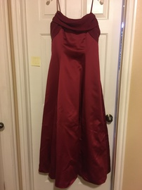 Queenly size 12  Red Straight evening gown/formal dress