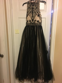 Cinderella Multicolor Size 10 Prom Halter Ball gown on Queenly